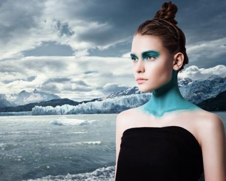Креативный фотограф в Астане, концепты с использованием грима