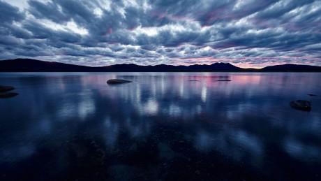 Фото озера Щучье (г. Щучинск)